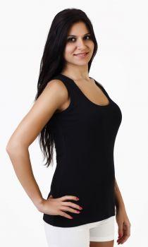 3'lü Kalın Askılı Bayan Havlu Atlet -3 Adet